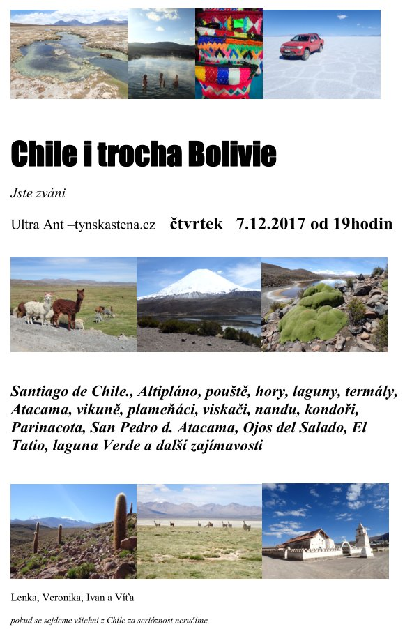 Chile i trocha Bolivie